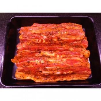 Poitrine de porc barbecue