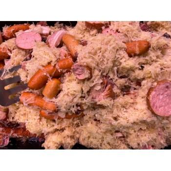 Choucroute cuite garnie