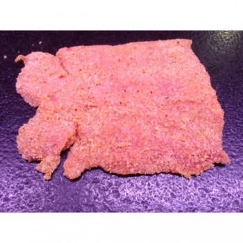 Escalope de porc panée