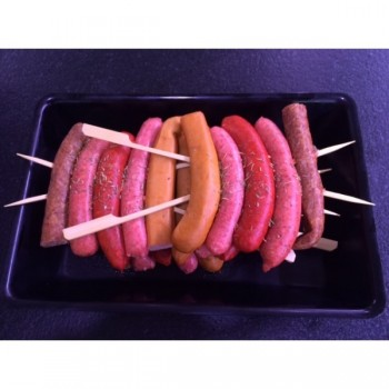 Brochette de saucisses